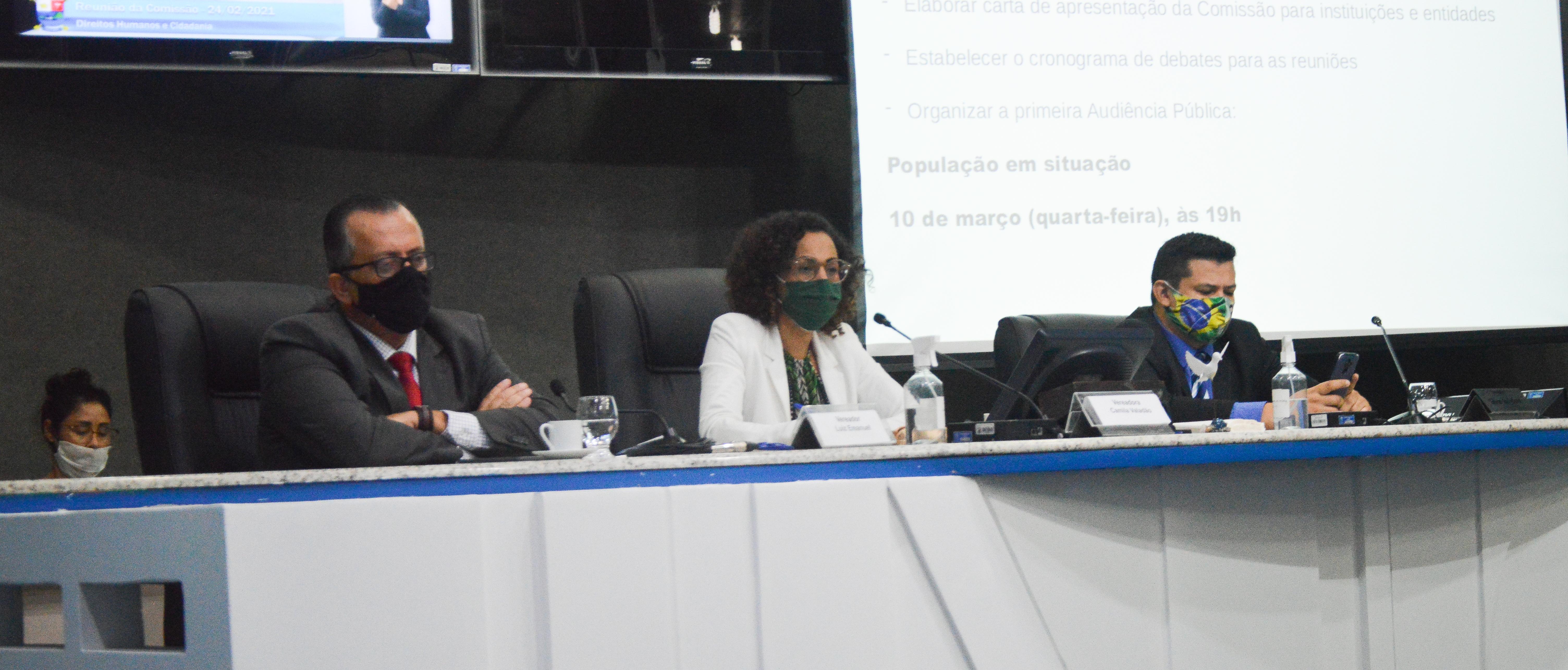 Comissão de Direitos Humanos e Cidadania é instalada