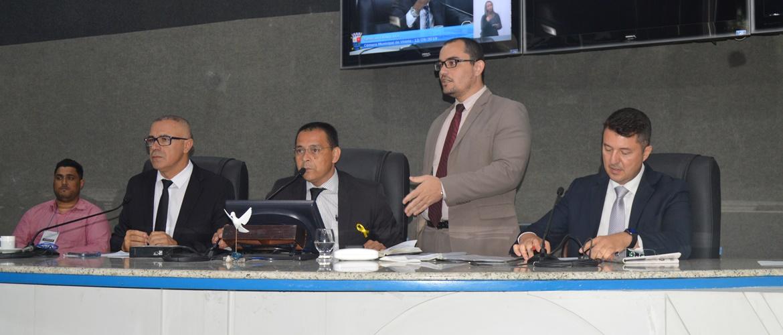 Vereadores apreciam duas matérias em Sessão Ordinária nesta quinta (12/09)