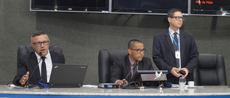 Em Sessão Ordinária vereadores apreciam duas matérias nesta quarta