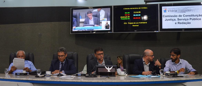 Comissão de Constituição e Justiça aprova Código de Defesa do Empreendedor na Cidade de Vitória