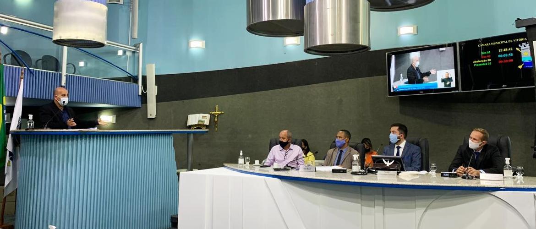 Comissões de Obras e Mobilidade Urbana recebem secretário de Transportes Alex Mariano