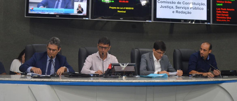 Na última Comissão de Justiça do ano parlamentares apreciam cinco matérias