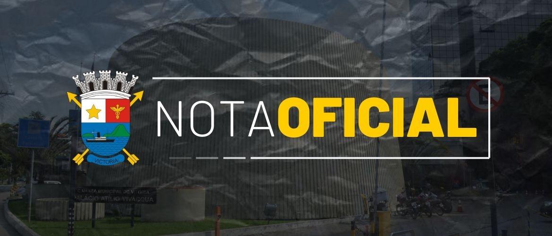 Prefeitura repassa crédito suplementar à Câmara de Vitória