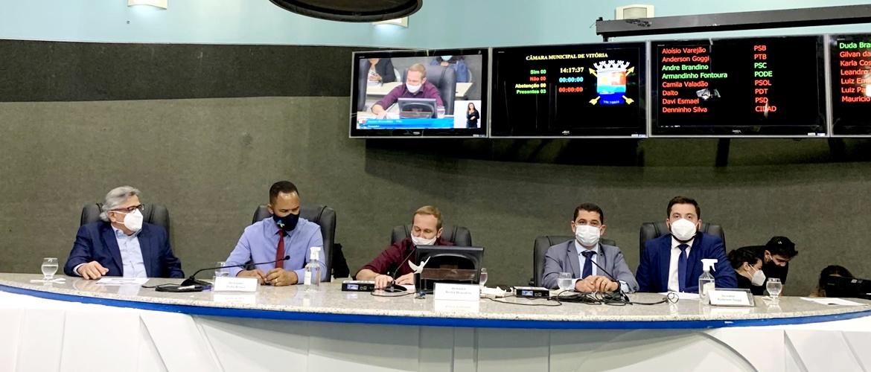 Comissão de Saúde participa da campanha do Junho Laranja que visa a prevenção de queimaduras
