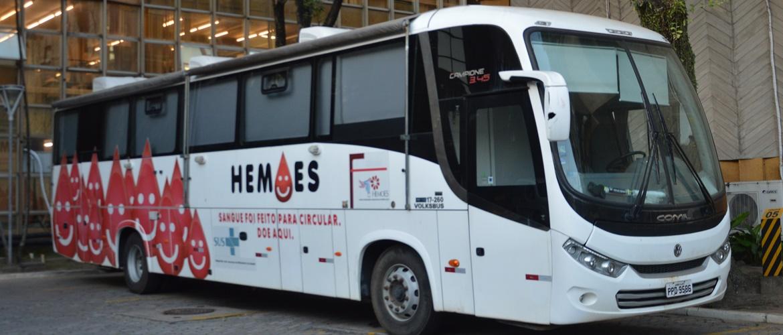 Campanha de Doação de Sangue na Câmara contribui para aumentar o estoque do Hemoes