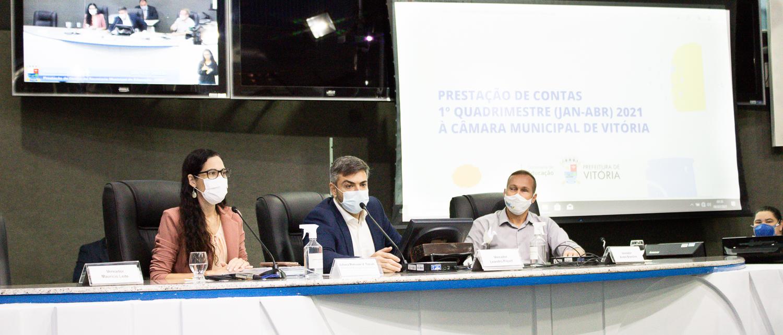 Secretária de Educação participa de Audiência Pública de  Prestação de Contas do 1º quadrimestre de 2021