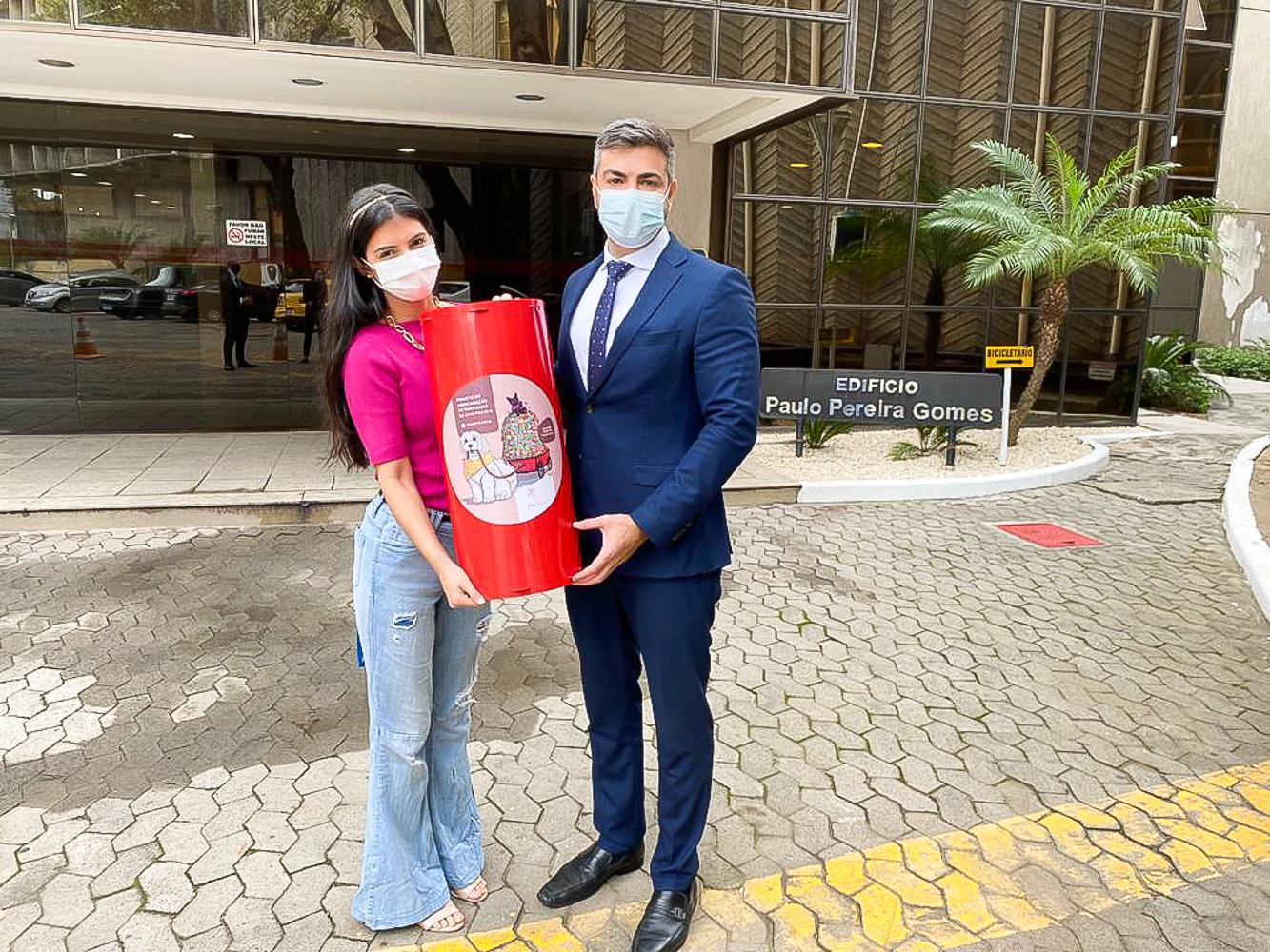 Vereador lança campanha de arrecadação de tampinhas